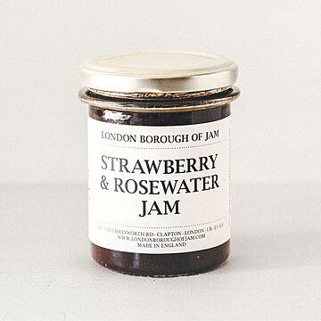London Borough of Jam ストロベリーとローズウォーターのジャム